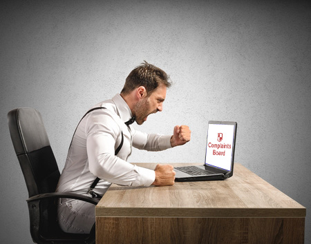 הסרת מידע מאתר Complaints Board
